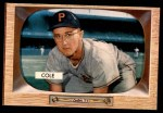 1955 Bowman #28  Dick Cole  Front Thumbnail