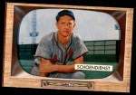 1955 Bowman #29  Red Schoendienst  Front Thumbnail