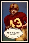 1953 Bowman #87  John Williams  Front Thumbnail