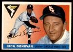 1955 Topps #146  Dick Donovan  Front Thumbnail