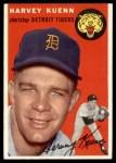 1954 Topps #25  Harvey Kuenn  Front Thumbnail