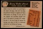 1955 Bowman #273  Bubba Church  Back Thumbnail