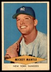 1954 Red Heart  Mickey Mantle  Front Thumbnail