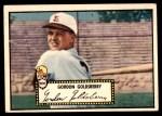 1952 Topps #46  Gordon Goldsberry  Front Thumbnail