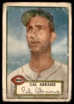 1952 Topps #350  Cal Abrams  Front Thumbnail