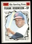 1970 Topps #463   -  Frank Robinson All-Star Front Thumbnail