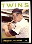 1964 Topps #177  Harmon Killebrew  Front Thumbnail
