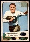 1954 Bowman #49  Lynn Chandnois  Front Thumbnail