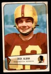 1954 Bowman #51  Dick Alban  Front Thumbnail