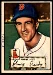 1952 Topps #15  Johnny Pesky  Front Thumbnail