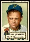 1952 Topps #167 CRM Bill Howerton  Front Thumbnail