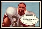 1953 Bowman #9  Marion Motley  Front Thumbnail