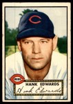 1952 Topps #176 CRM Hank Edwards  Front Thumbnail