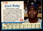 1962 Post #90  Earl Battey   Front Thumbnail