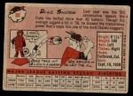 1958 Topps #88  Duke Snider  Back Thumbnail