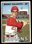 1967 Topps #580  Rocky Colavito  Front Thumbnail