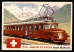 1955 Topps Rails & Sails #123   Red Arrow Express Front Thumbnail