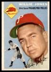 1954 Topps #41  Willie Jones  Front Thumbnail