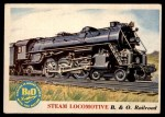 1955 Topps Rails & Sails #122   Steam Locomotive Front Thumbnail