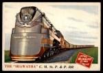 1955 Topps Rails & Sails #104   The Hiawatha Front Thumbnail