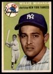 1954 Topps #56  Willie Miranda  Front Thumbnail