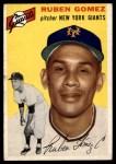 1954 Topps #220  Ruben Gomez  Front Thumbnail