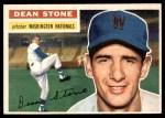 1956 Topps #87  Dean Stone  Front Thumbnail