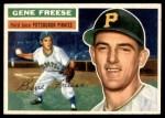 1956 Topps #46  Gene Freese  Front Thumbnail