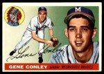 1955 Topps #81  Gene Conley  Front Thumbnail