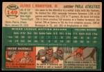 1954 Topps #149  Jim Robertson  Back Thumbnail