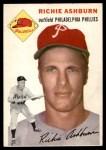 1954 Topps #45  Richie Ashburn  Front Thumbnail