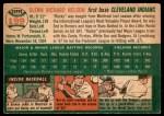 1954 Topps #199  Rocky Nelson  Back Thumbnail