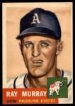 1953 Topps #234  Ray Murray  Front Thumbnail