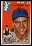 1954 Topps #184  Ed Bailey  Front Thumbnail