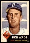 1953 Topps #4  Ben Wade  Front Thumbnail