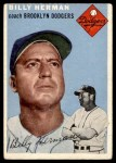 1954 Topps #86  Billy Herman  Front Thumbnail