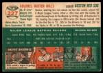 1954 Topps #227  Buster Mills  Back Thumbnail