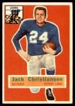 1956 Topps #20  Jack Christiansen  Front Thumbnail