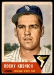 1953 Topps #229  Rocky Krsnich  Front Thumbnail