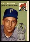1954 Topps #134  Cal Hogue  Front Thumbnail
