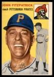 1954 Topps #213  John Fitzpatrick  Front Thumbnail