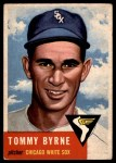 1953 Topps #123  Tommy Byrne  Front Thumbnail