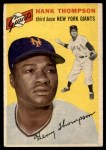 1954 Topps #64  Hank Thompson  Front Thumbnail