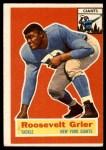 1956 Topps #101  Roosevelt Grier  Front Thumbnail