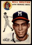 1954 Topps #109  Billy Bruton  Front Thumbnail