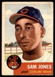1953 Topps #6  Sam Jones  Front Thumbnail