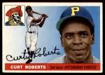 1955 Topps #107  Curt Roberts  Front Thumbnail