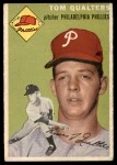 1954 Topps #174  Tom Qualters  Front Thumbnail