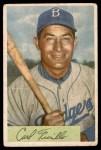 1954 Bowman #122  Carl Furillo  Front Thumbnail