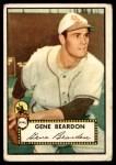 1952 Topps #229  Gene Beardon  Front Thumbnail